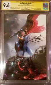 Action comics 1000 variant Mattina SS 9.6 Only 1 in the world