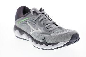 Mizuno Wave Horizon 4 FLVR023B022 Womens Grey Mesh Athletic Running Shoes 8