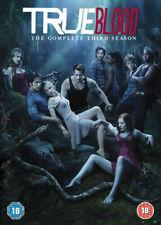 True Blood. Season 3. Series 3. Third Season. 5 Disc Dvd Set. Region 2