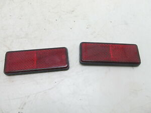 2007 Hyosung 250CC Motorcycle Red Reclectors Stick on OEM Used