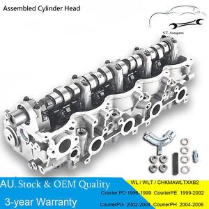 Assembled Cylinder Head Kit Ford Courier Mazda Bravo B2500 WL-T 4CYL Turbo 2.5L