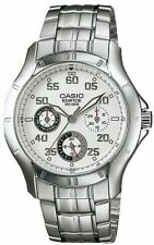 Casio Edifice Analog White Dial Men's Water Resistant Watch EF-317D-7AVDR