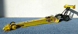 1996 Premier Edition Eddie Hill Pennzoil1/24 Die Cast NHRA Top Fuel Dragster