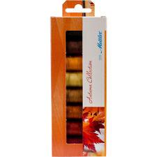 Mettler Silk Finish Cotton Thread Gift Pack 8/Pkg-Autumn, SFC8AUT