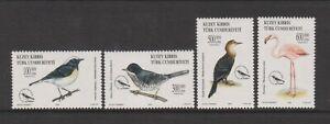 Turkish Cyprus - 2003, World Environment Day, Birds set - MNH - SG 570/3