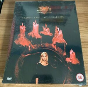 Buffy The Vampire Slayer Season Two DVD Collection (2001, 6 Disc Set) NEW/SEALED