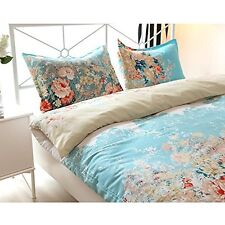 NEW Floral Print Pattern Duvet Cover Sets with Pillow Shams King Size