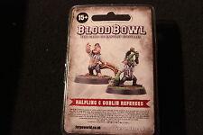 Games Workshop Giocatore Bloodbowl Mezzosangue e Goblin arbitri Limited Edition FORGEWORLD