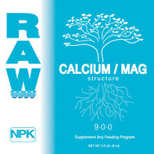 RAW NPK Organic Soluble Nutrients All Sizes Original Packaging - Cal / Mag