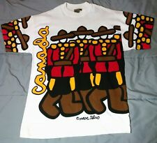 Mark Tetro Canada Pop Art All Over Print Mounty T-shirt One Size