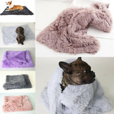 Dog Bed Mats Soft Fleece Paw Warm Pet Blanket Sleeping Beds Cover Mat For Cats