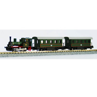 "Kato 10-500-1 Pocket Line Steam Train Set ""Fun City SL"" - N"