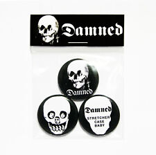 The Damned Stretcher Case Baby Badge Pack - 3 Pin Button Badges (Punk)