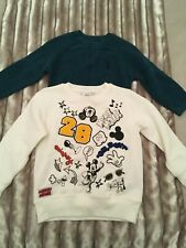 Boys next/mickey mouse jumpers age 2-3 years