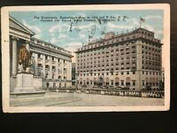 Vintage Postcard>1927>The Washington Hotel>Pennsylvania Ave>Washington, D.C.