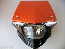 UFO KTM NARANJA camino legal Faro Enduro SX EXC XCF SXF Lc4 EGS Duque SMR Exf