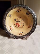 ANTIQUE ORIGINAL Sebring Pottery Co. Uncle Wiggily Golden Maize Bowl- 1924