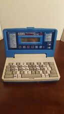 Vintage VTech Pre Computer Think Book TESTED WORKS Games Educational Kids