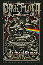 Pink Floyd Rainbow Theatre Maxi Poster 61x91.5cm Dark Side The Wall Roger Waters