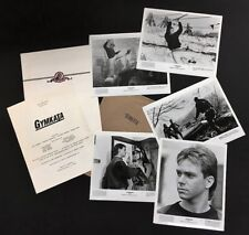 Gymkata, 1985 Original  Presskit - 5 Stills - Kurt Thomas    *Hollywood Posters