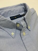 Ralph Lauren  Woman's Shirt Oxford  Blue Size Medium
