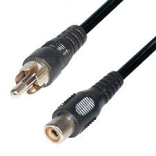 Audio Kabel 5m Cinch Verlängerungskabel RCA Lautsprecher Verlängerung mono ka1