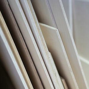 Multiplex Birke Holzplatte wasserfest verleimt, Zuschnitt, Sperrholzplatte 6mm