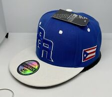 PUERTO RICO WBC 3-D EMBROIDERED - FLAG ON SIDE SNAPBACK HAT