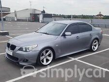 Tinted Front & Rear Window 4pc Set Heko Wind Deflectors BMW 5 Series E60 (03-10)