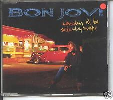 bon  jovi - someday i'll be saterday night  cd single