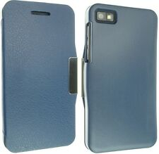FOR BLACKBERRY Z10 LEATHER CASE COVER SLIM SMART WALLET POUCH BACK SKIN SOCK