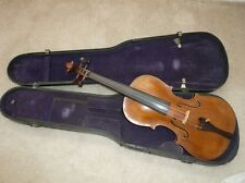 Antique Old Vintage Violin Fiddle full size 4/4 stamped STAINER