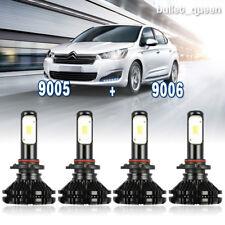 NSSC 9005 9006 LED Headlight Bulb Kit for Chevy Silverado 1500 2500 HD 2001-2006