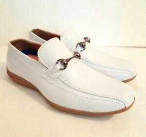 "Boys Dress Shoes Joseph Dann ""2363603"" Kids Size 2 Youth Slip-On Loafers"