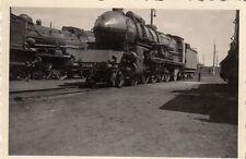 orig.foto ca.6x6cm Locomotive à vapeur 241A (G39)