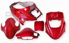 Kit carénage capot rouge métallique pour PGO Big Max Hot 50 KIT DE FINITION