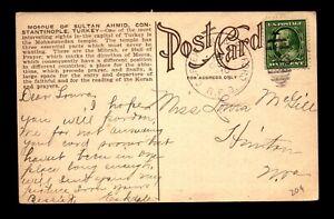 1910 C Creek Junction & Kayford RPO Card - L19891