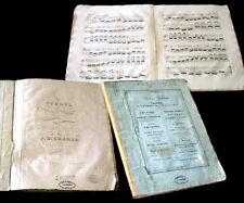 41 études pour le piano J.B. Cramer 1825 partition
