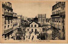 CPA Les Vallees - Place de la gare des Vallees (274414)