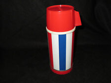 1973 USA Wake Up America Thermos for Lunch Box * Vintage * Very Rare * Near Mint