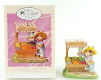 "1997 Hallmark Keepsake Ornament ""Farmer's Market - Tender Touches"" Club Edition"