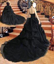 Plus Size Black Wedding Dresses Formal Bride Dress Bridal Gowns Online Hot Sale