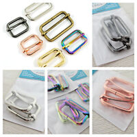 "Emmaline Bags adjustable sliders 25mm/1"" - range of finishes - for bags & crafts"