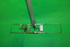 Original Ha-Ra Bodenwischer für Bodenfaser 42 cm mit Stiel Halter aus Edelstahl