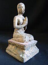 Statuette d'Orant en bronze de THAÏLANDE