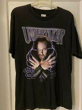 Vintage 1997 Undertaker T-shirt L Black The Dark Days WWF Wrestling Large