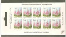 1992   FINLAND - PROVINCIAL PLANTS - IMPERFORATE BOOKLET  -  UMM