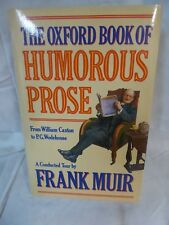 The Oxford Book of Humrous Prose Englische Sprache Humor Satiere England 1990