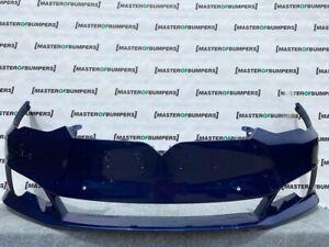 TESLA MODEL S FACE LIFTING 2017-2020 FRONT BUMPER IN BLUE GENUINE [J278]