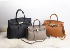 Women's 100% Genuine Leather Elegant Handbag Satchel Tote Crossbody Shoulder Bag